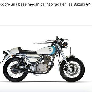 mash cafe racer motor 125cc