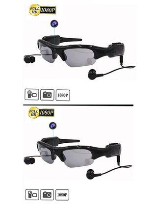 2 Gafas con Cámara y Reproductoras de Música