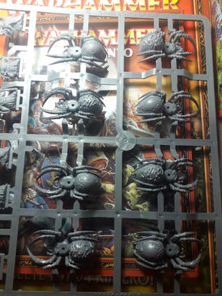 Warhammer Jinetez arañas goblins