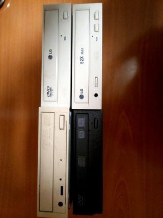 4 Grabadora DVD y CD