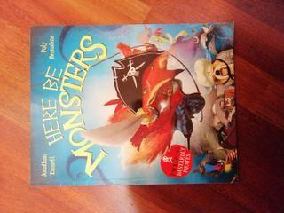 libro en inglés Here Be Monsters