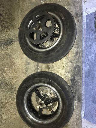 ruedas de mini moto cicuito