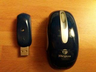 Mouse Targus óptico inalámbrico