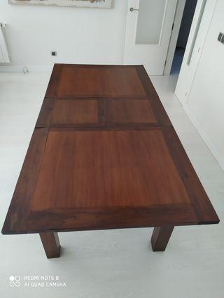 Mesa de comedor de teca,de Banak