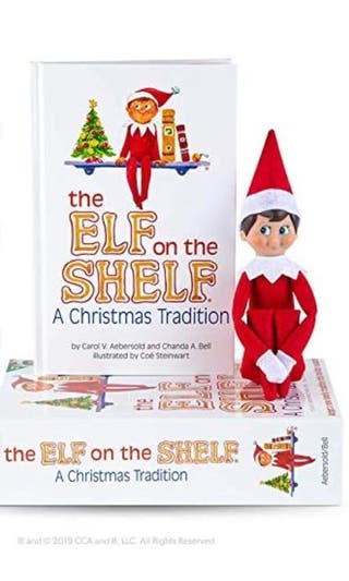 The elf on the shelf en español