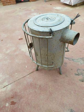 vendo estufa de leña antigua