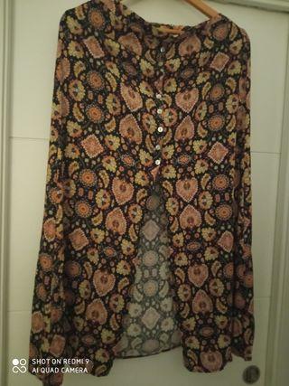 falda larga estilo vintage