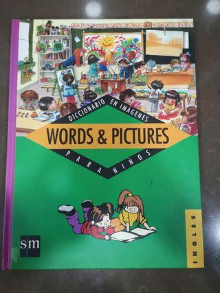 Diccionario en imágenes para niños en inglés.