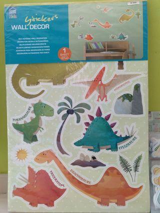 Pegatinas Dinosaurios para pared/muebles niño/niña