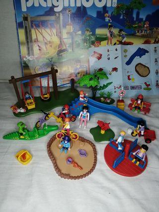 PLAYMOBIL 9982 Niños Parque de juegos