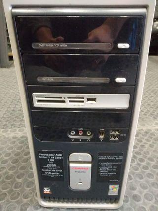 Ordenador torre compaq presario Windows XP