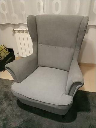 Sillón Ikea Strandmon. Precio en tienda 179 euros.