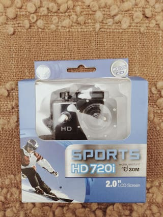 "Cámara deportiva Sports HD 720i DV 2"""