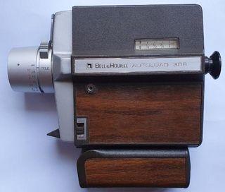 Cámara Súper 8 Vintage Bell & Howell Autoload 308