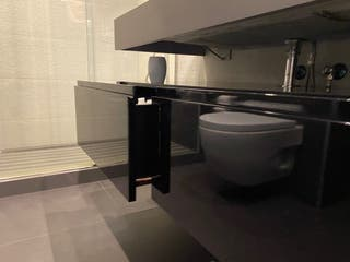 Conjunto baño encimera + mueble baño+estante