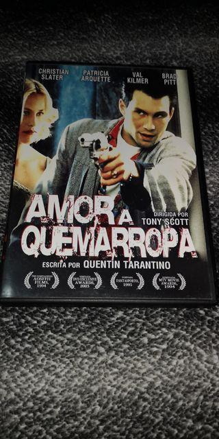 AMOR A QUEMARROPA DVD