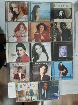 LOTE 15 CDS x 25€