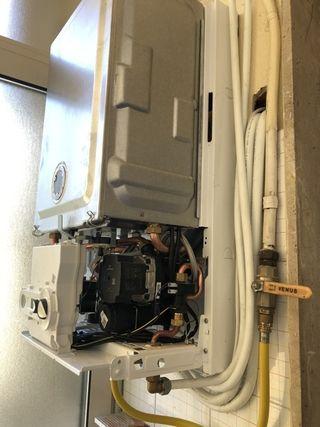 Instalación calderas. Revisión y reparacion