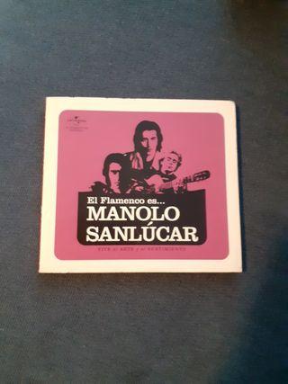 El flamenco es... Manolo Sanlúcar - cd