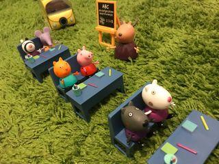Cole y caravana de Peppa Pig