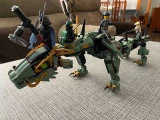 Lego original ninjago dragon verde
