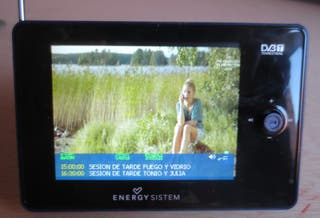 "mini TV-TDT 3,5"" MP5 8GB ENERGY SISTEM 7008"