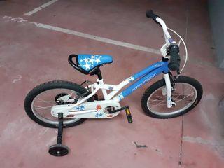 Bicicleta Monty de niño como nueva.