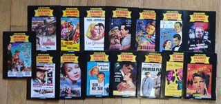 lote 15 DVD de Grandes de Hollywood