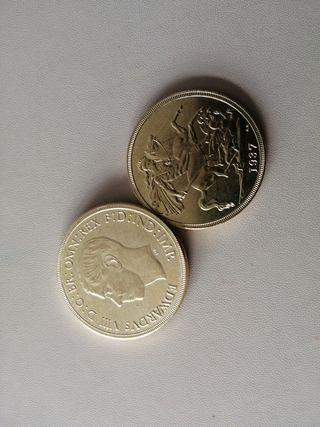 reproducción moneda Eduardo VIII