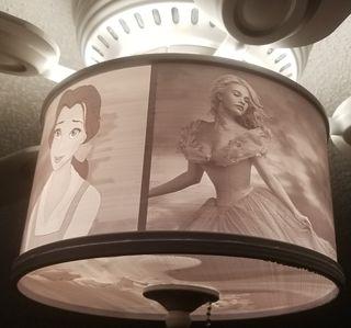 lampara recuerdos fotos en 3D.