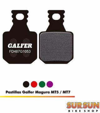 Pastillas Galfer para Magura MT5, MT7