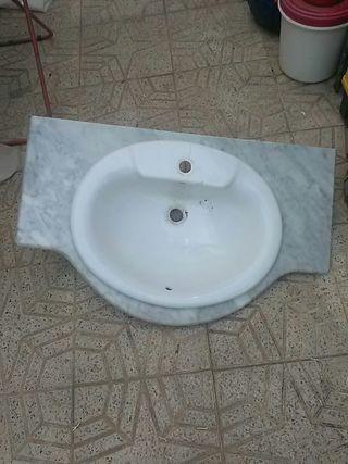 lavabo e mármol