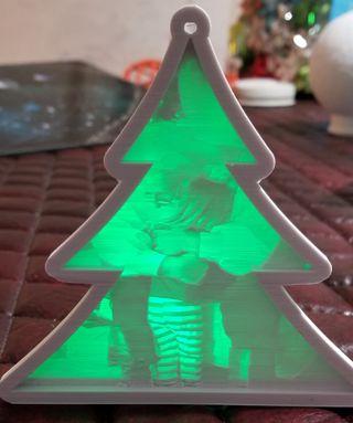 llavero Navidad recuerdo