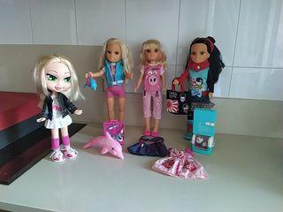 Lote de muñecas Nancy + una Brazt de regalo.