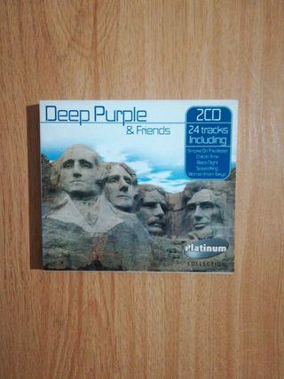 "Doble cd ""Deep Purple & Friends"""
