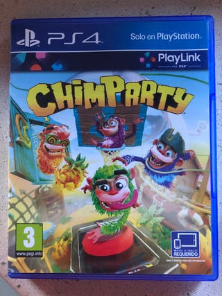 Chimparty para PS4.