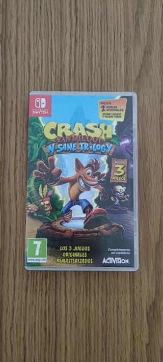 Crash Bandicoot: N Sane Trilogy - Nintendo Switch