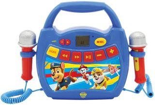 reproductor de la patrulla canina con 2 microfonos