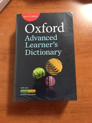 Diccionario Oxford advanced learner's dictionary