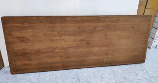 Cabecero de madera natural 160x60