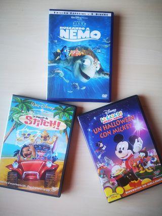 Lote de películas Disney + DVD edición especial
