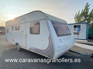 caravana roller adagio 495 de luxe-aire acondicion