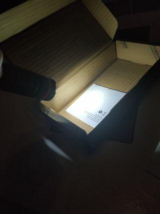 Linterna LED USB Recargable