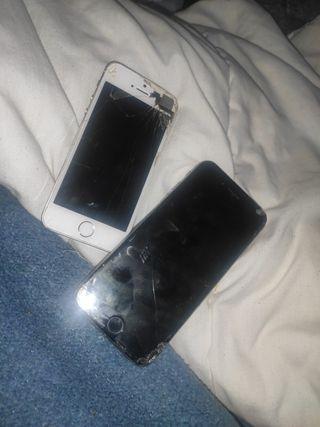 vendo iPhone 5 y iPhone 6 por 40€
