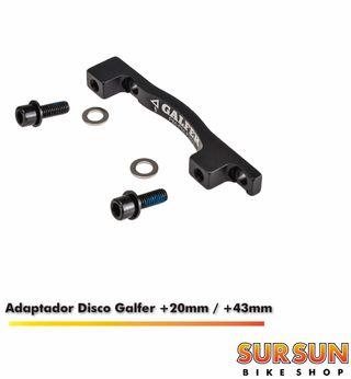 Adaptador Galfer +20mm / + 43mm