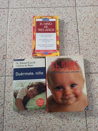 Lote libros Educación y crecimiento niño) o suelto