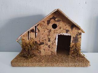 Casa portal de Belén Navidad