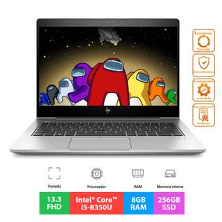 HP EliteBook 830 G5 - Core i5 - 8GB - 256GB - 13.3