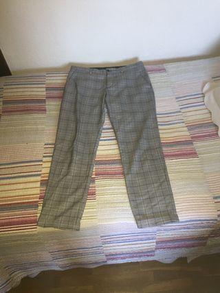 Pantalones a cuadros del Zara