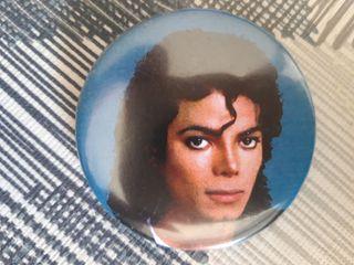 Chapa pin Michael jackson